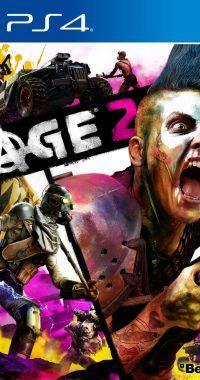 RAGE 2 Carátula PS4