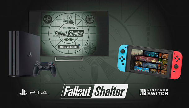 Fallout Shelter PlayStation 4 Nintendo Switch