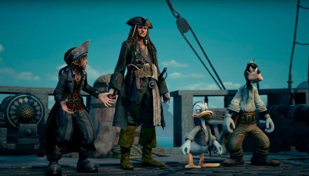 Piratas del Caribe Kingdom Hearts III