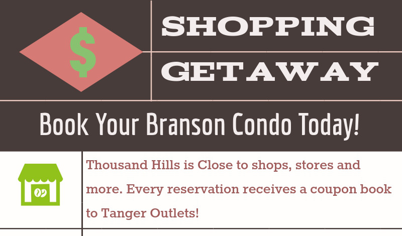 Book Your Shopping Trip Condo Today!