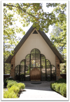 stonegate glass wedding chapel branson stonegate chapel branson weddings