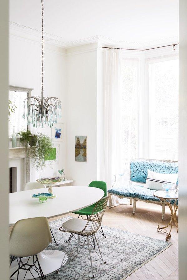 A Green  White Scandinavian Home  Thou Swell