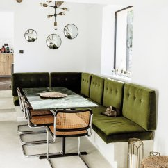 Banquette Kitchen Table John Boos Cart My Favorite Cozy Dining Banquettes - Thou Swell