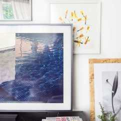 Framed Wall Art For Living Room Ideas With Brown Wood Floors The Frame: A Tv - Thou Swell