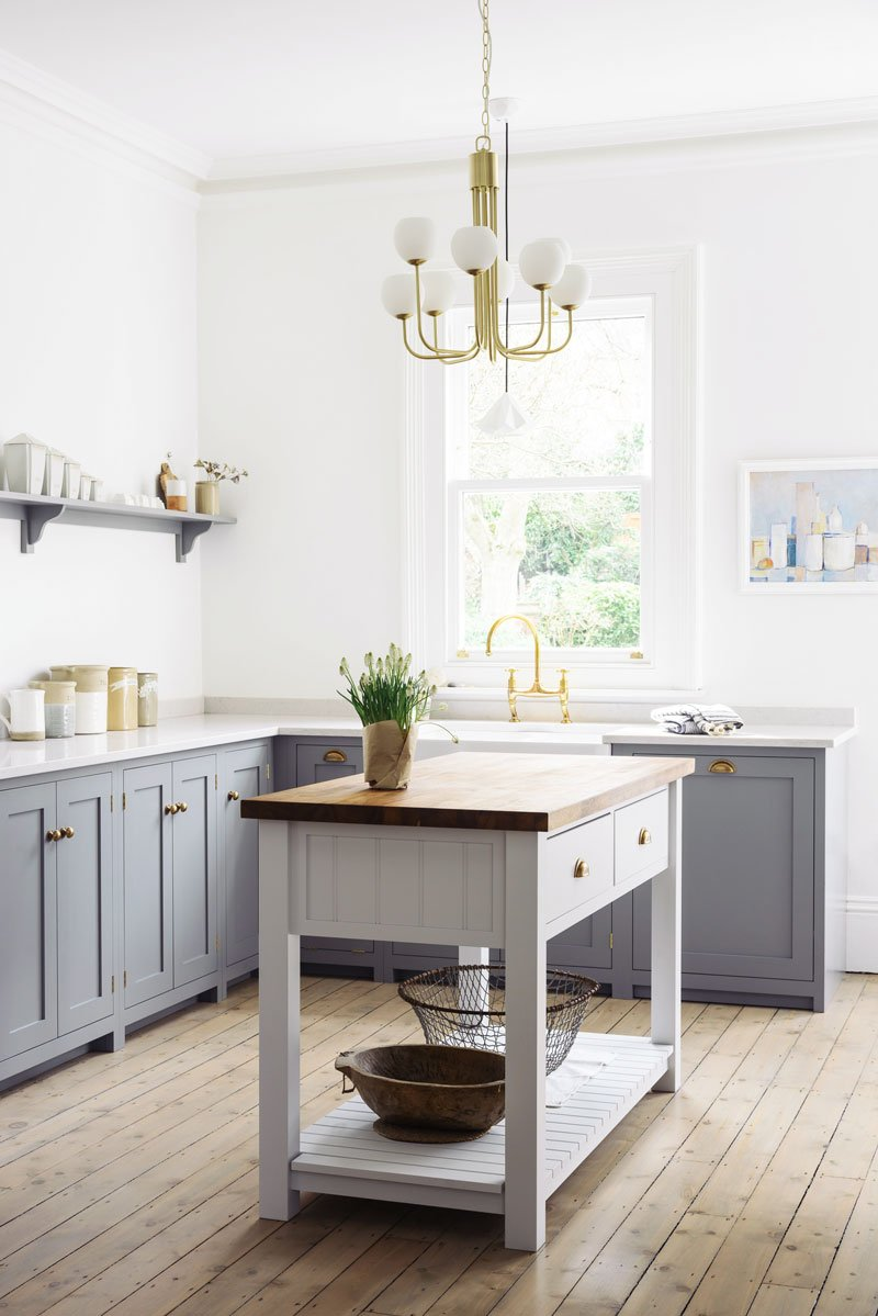 free standing kitchens kitchen curtain panels stylish freestanding islands carts thou swell via devol