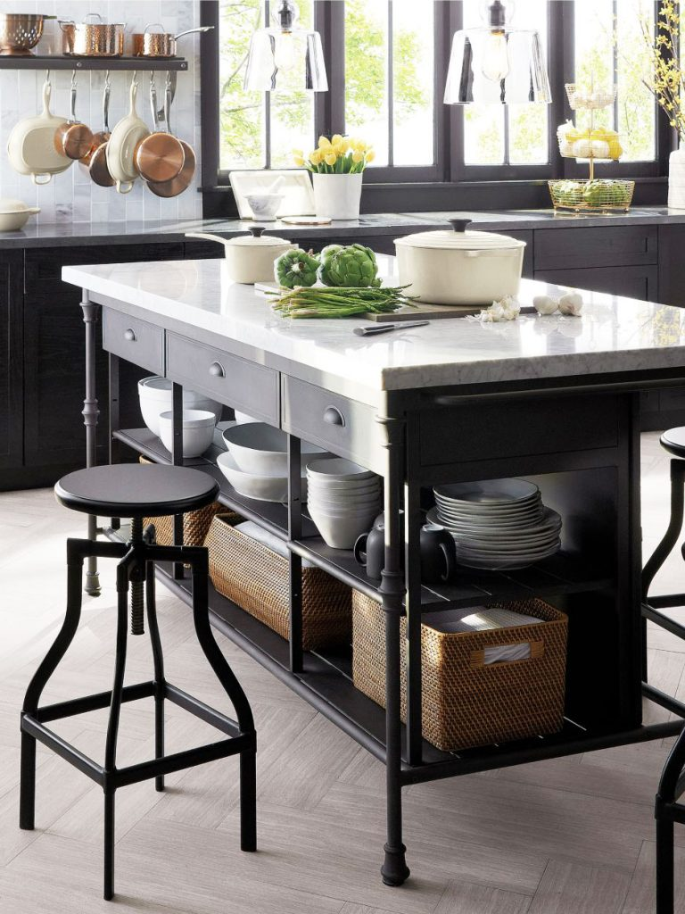 Stylish Freestanding Kitchen Islands Amp Carts Thou Swell