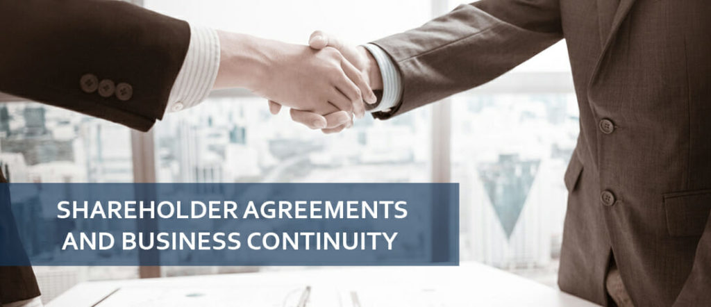 Shareholder Agreements and Business Continuity | THP