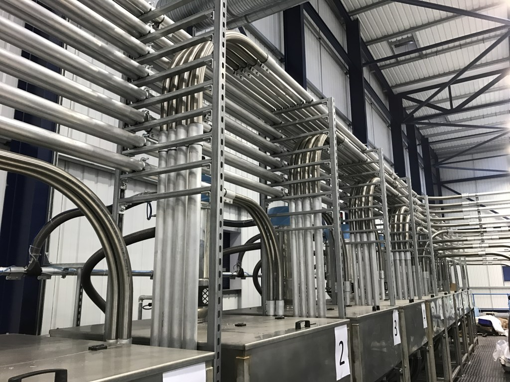 conveying pipework