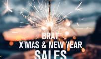 Bratpack BRAT X'MAS & NEW YEAR SALE