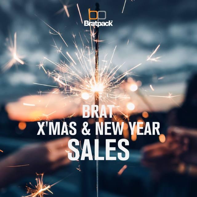 Bratpack BRAT X'MAS & NEW YEAR SALE (22 ธ.ค. 60 - 7 ม.ค. 61)