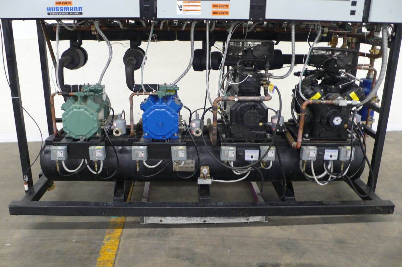 copeland discus wiring diagram triumph street triple 675 hussmann 30 hp low temp freezer refrigeration rack