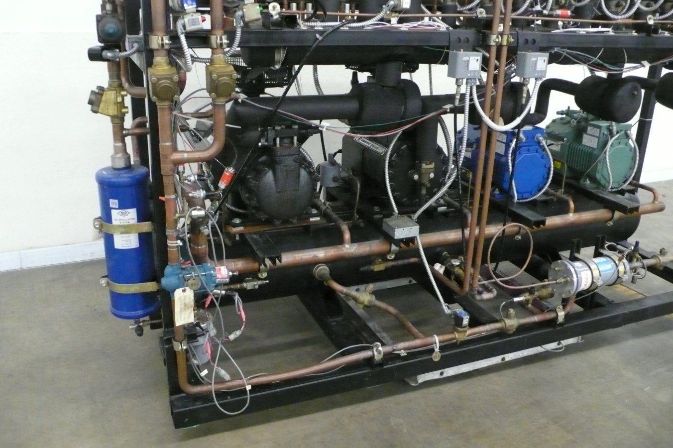 copeland discus wiring diagram mile marker hydraulic winch hussmann 30 hp low temp freezer refrigeration rack