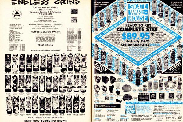 Thrasher Skateboard Magazine December 1989