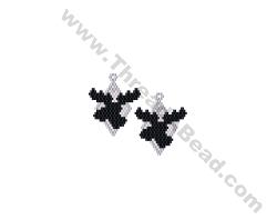 Moose Earring Bead Pattern By ThreadABead