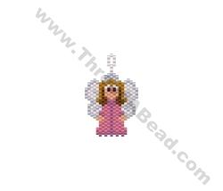 Angel Pendant Bead Pattern By ThreadABead