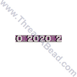 2020 Bracelet Bead Pattern By ThreadABead