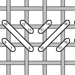 Needlepoint Stitches Stitch Diagrams 7 Pin Flat Trailer Wiring Diagram Toyota Mosaic Alternating Jpg 46019 Bytes