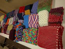 photo of scarves