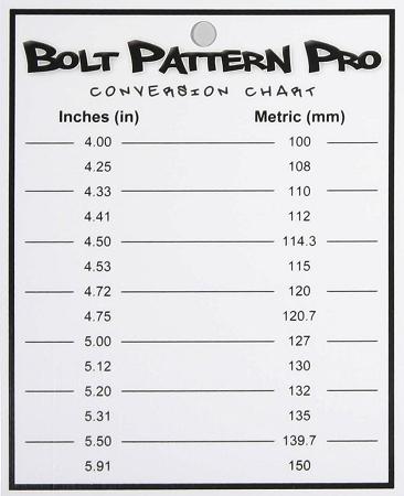 AUTO WHEEL BOLT PATTERN MEASUREMENT « FREE Knitting PATTERNS