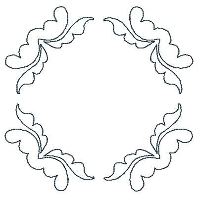 Quilt Lines X Machine Embroidery Design Set