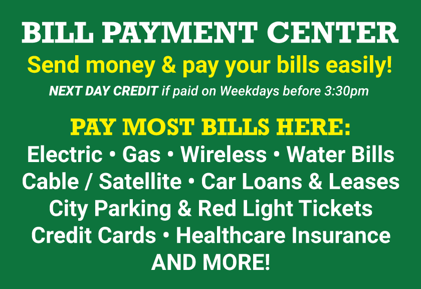 Bill Payments in Baltimore