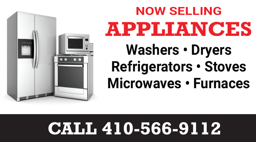 Now selling appliances!