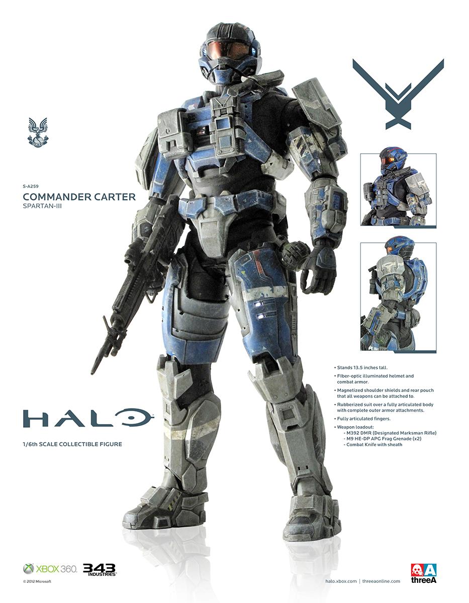 HALO Commander Carter Spartan III