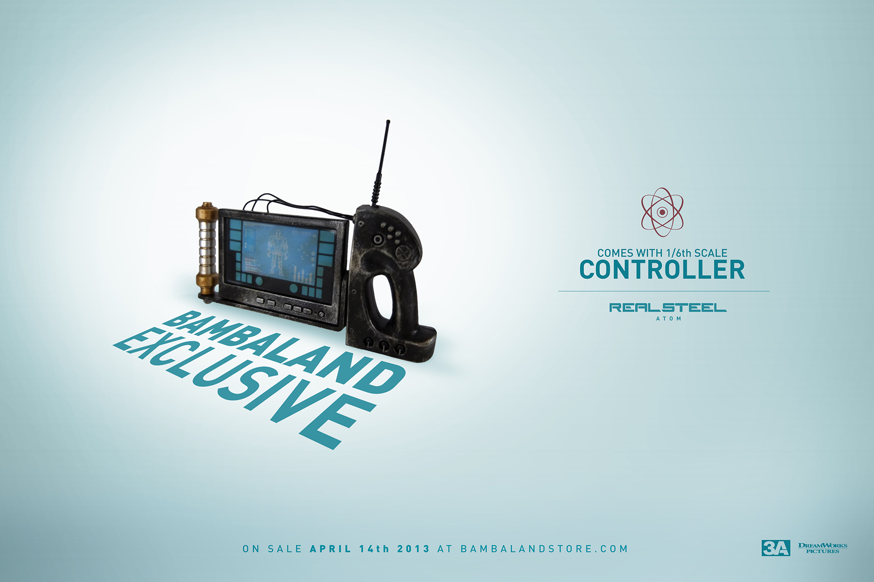Real Steel Atom Controller