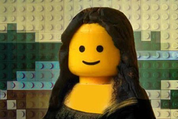 Impressive Lego Paintings