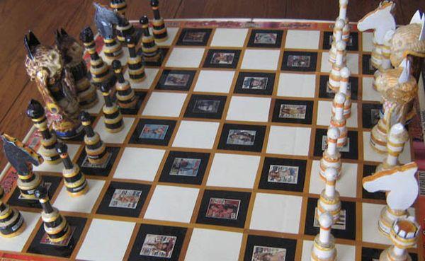Rolling Stone Chess Set