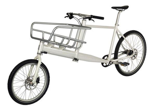KiBiCi's lightweight cargo bike