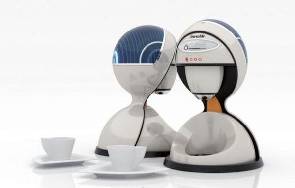 Solar Coffee Maker by Gun Ho Lee