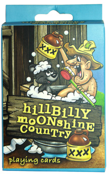 Hillbilly Moonshine Country Playin Cards Miscellaneous