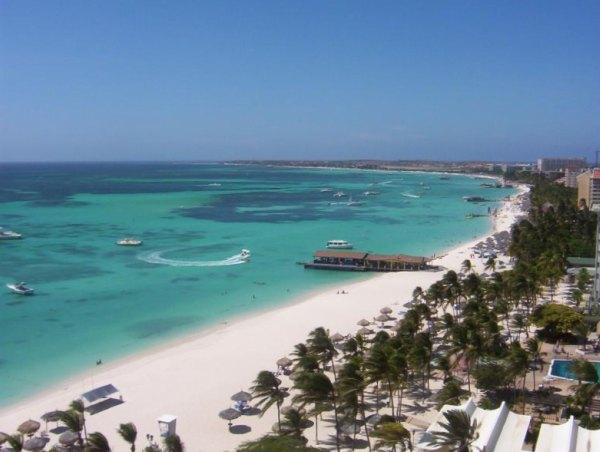 Palm Beach in Aruba