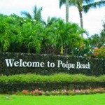 Poipu Community entrance