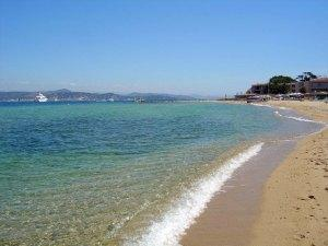 Cote de Azur beach, France