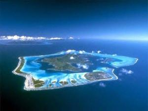 Bora Bora from air