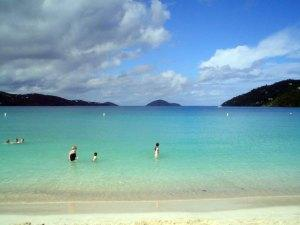 Magens Bay Beach St Thomas USVI