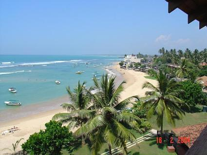 Hikkaduwa - View from Coral Gardens Hotel