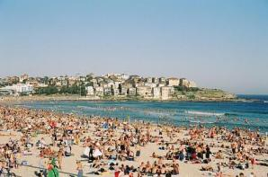Bondi Beach on Christmas Day 2003