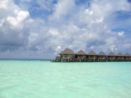 Sangu Water Villas in North Western lagoon