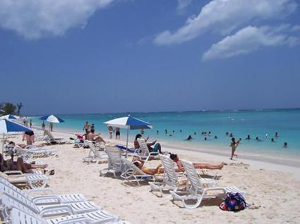 The Seven Mile Beach at Georgetown, Grand Cayman