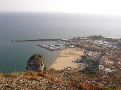 TERRACINA our beach and the harbour 038