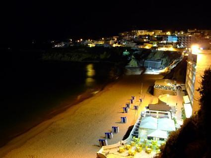 DSCF3126 Albufeira - The beach nocturnal - Portugal