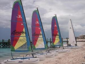 Hobie Cats at Beaches, Grace Bay, Providenciales