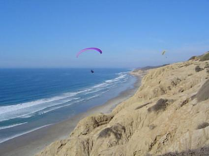 The Cliffs Above Blacks Beach