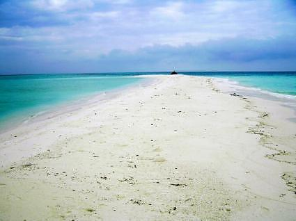 a beach at North Atoll