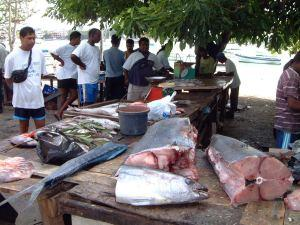 Plage Grand Baie Fish Market, Mauritius