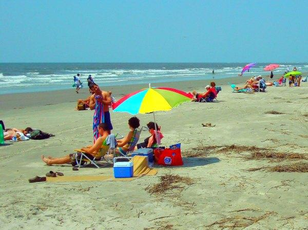 Beachwalker Park in Kiawah Island, South Carolina