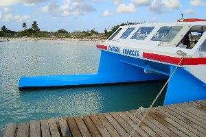 Barbuda Express ferry boat